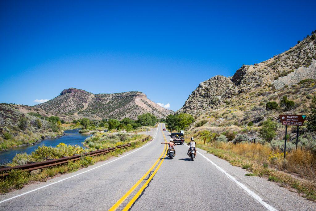 Road to Taos Rio Grande River