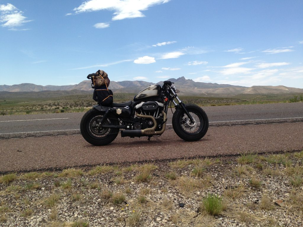 First cross Country Motorcycle Trip