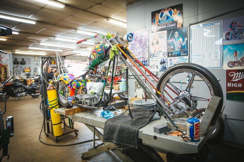 Rick Fairless's Chopper Build