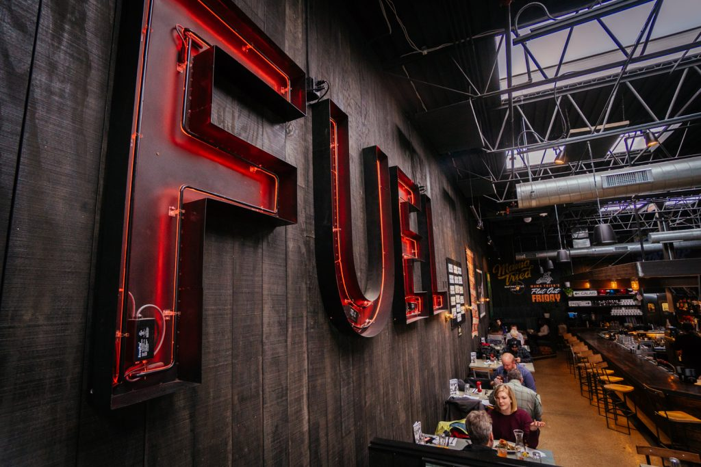 Fuel Cafe Neon Sign