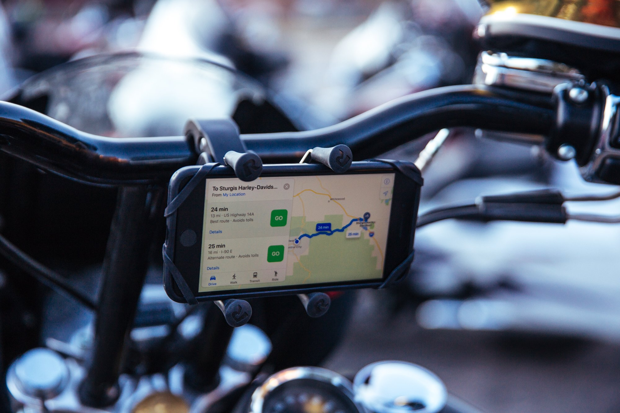 Best RAM® Phone Mounts for your Motorcycle
