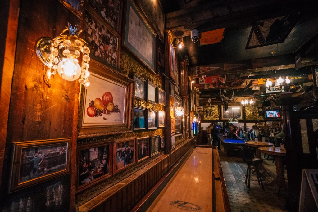 Inside the Silver Dollar Saloon in Leadville Colorado