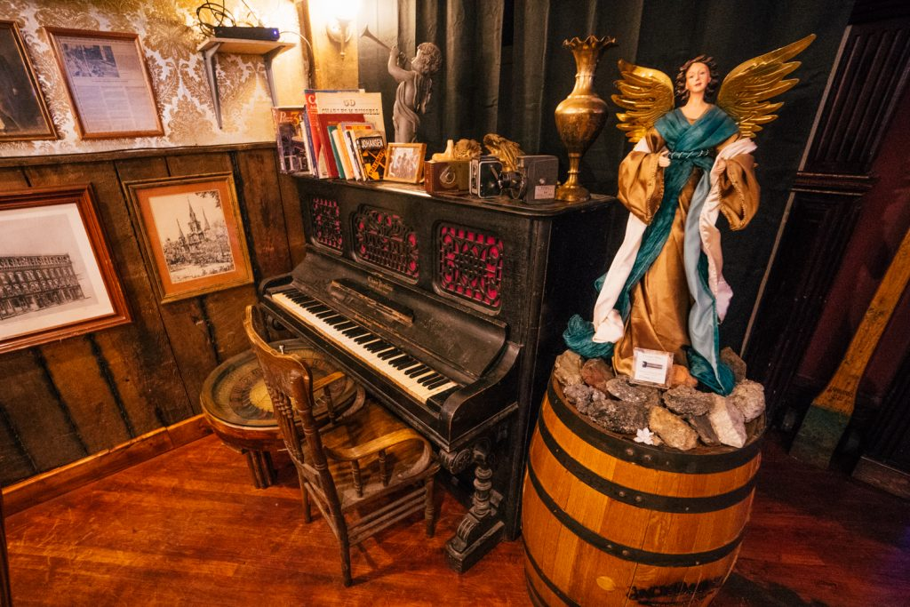 Silver Dollar Saloon Doc Holliday's Piano