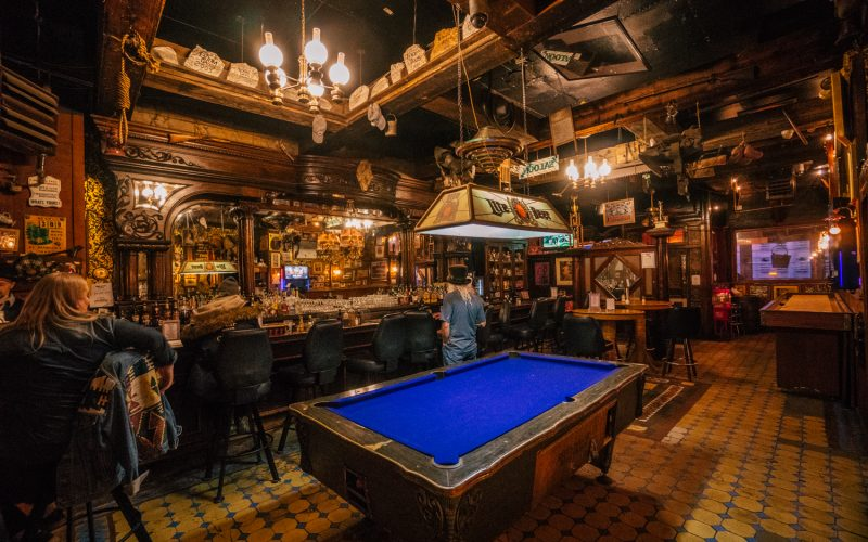 The Silver Dollar Saloon: 140 Years Old and Full of History!
