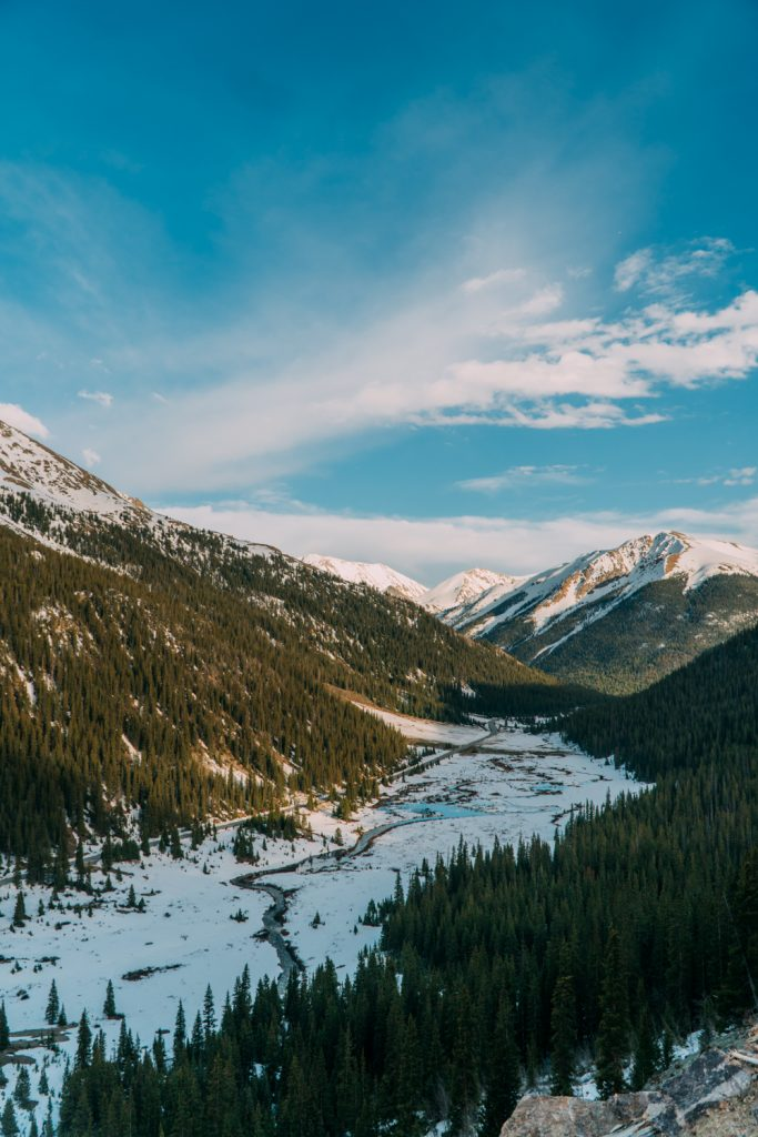 Independence Pass's Eastern Slope