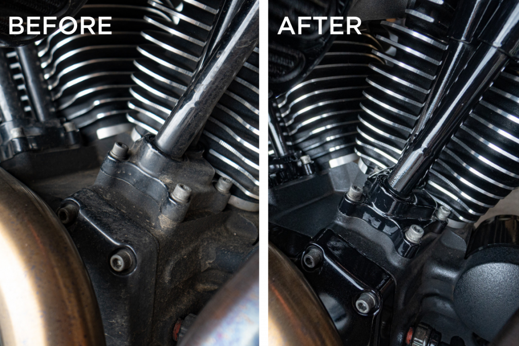 S100 Cleaner makes engines look new