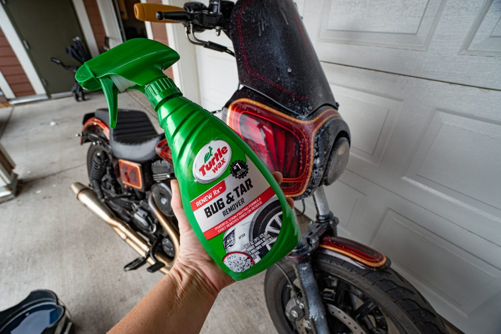 Turtle Wax Bug & Tar Removal | How to Detail your Motorcycle Yourself