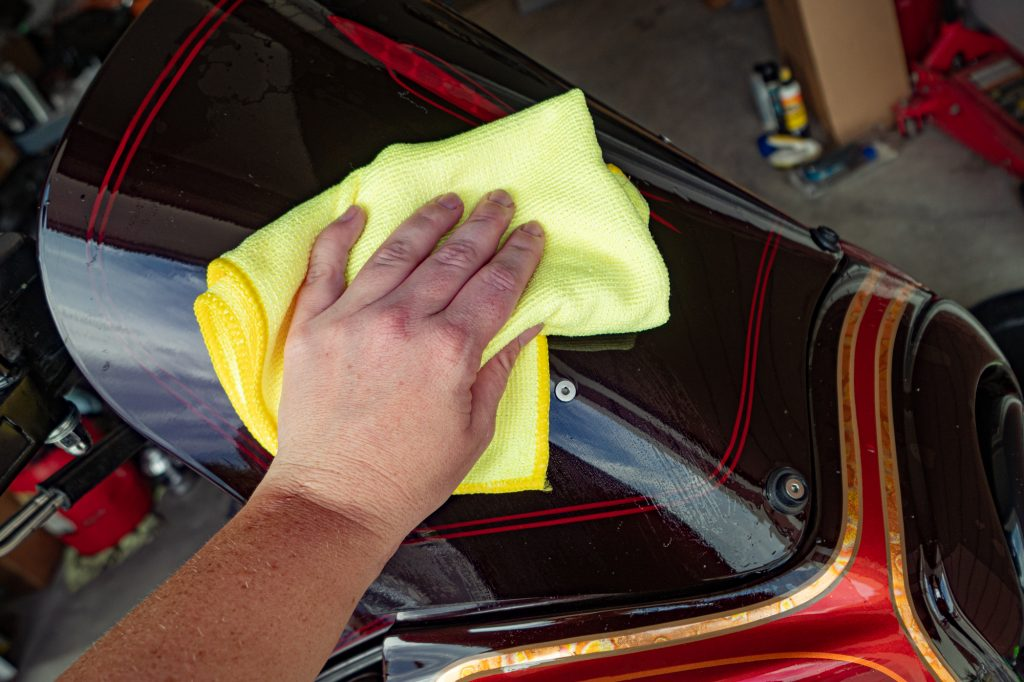 Clean Microfiber Towels | How To Detail Your Motorcycle Yourself