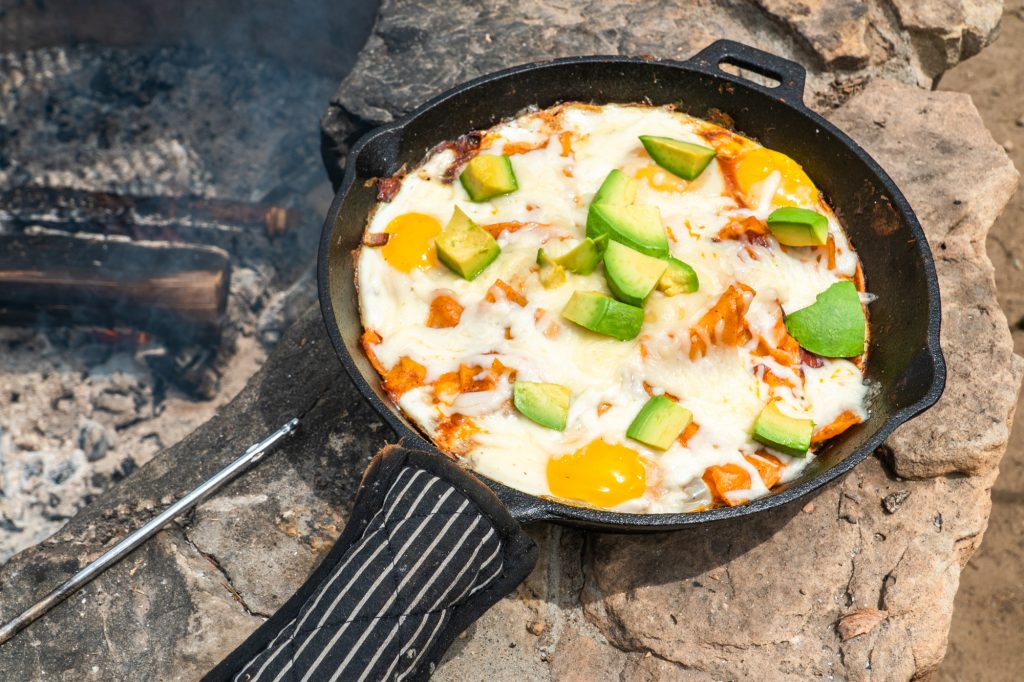 Campfire Chilaquiles