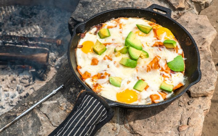 Campfire Chilaquiles Recipe