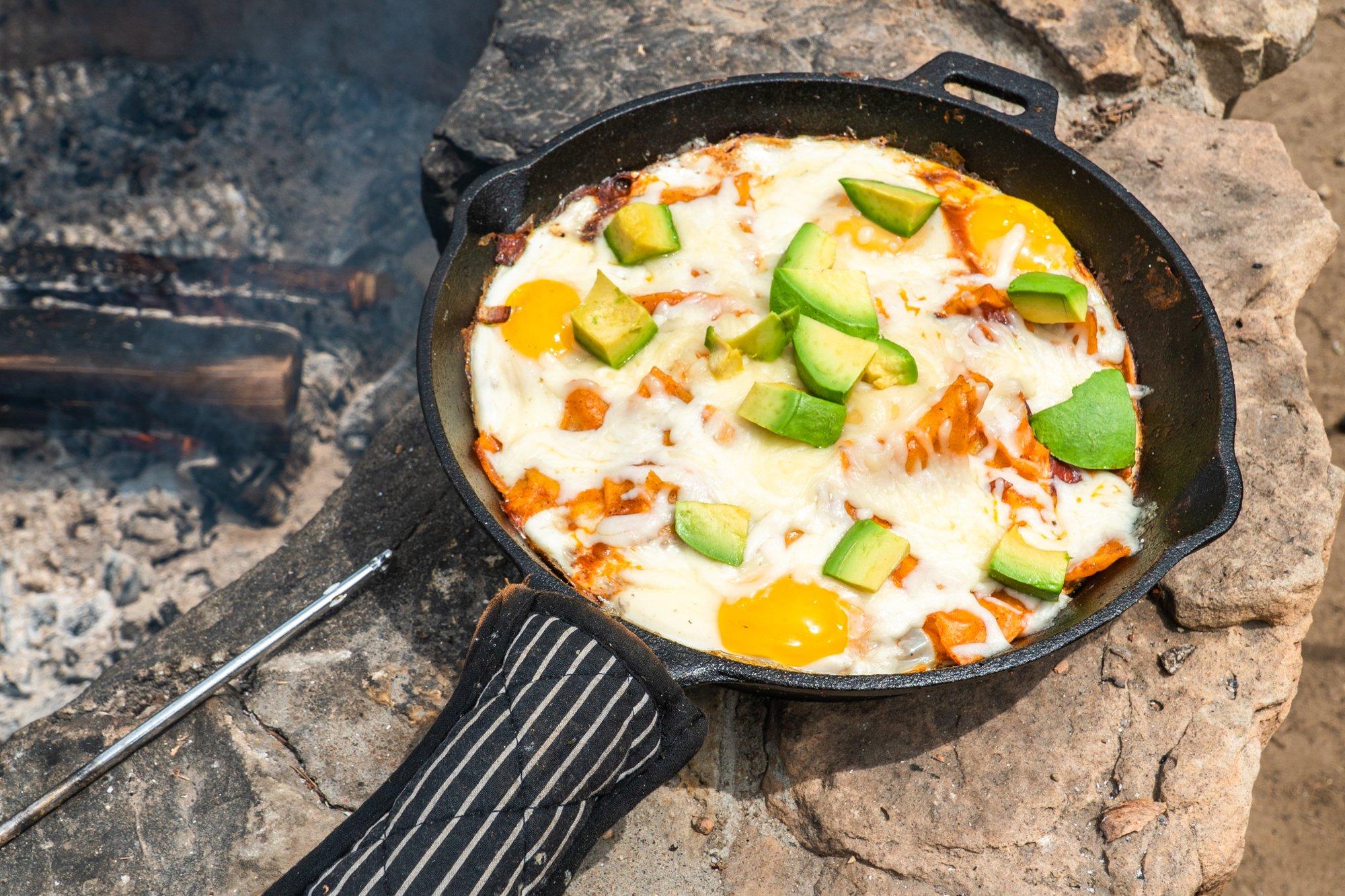 Campfire Chilaquiles Recipe