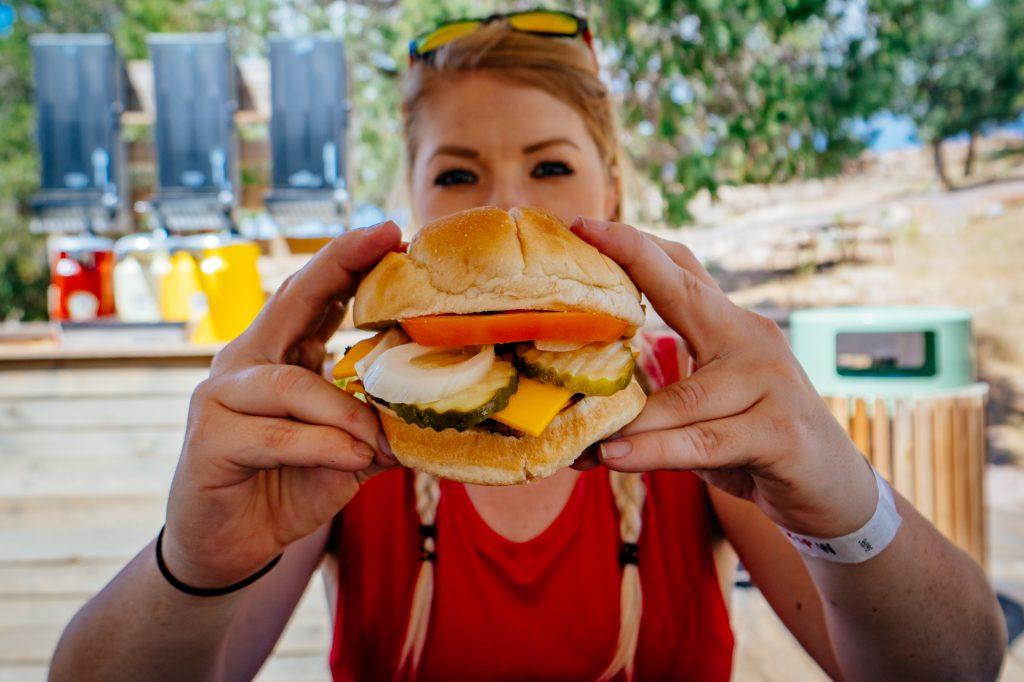 Cheeseburger at Royal Gorge Bridge Park