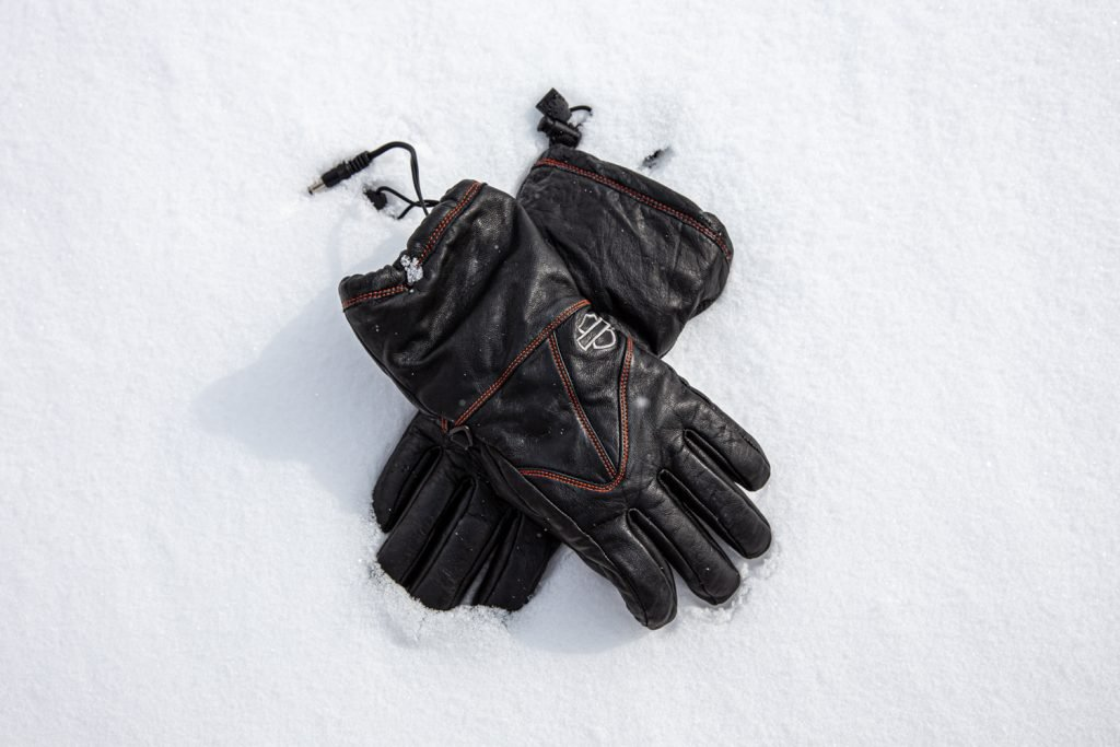 harley-davidson womens heated gloves 98322-17VW
