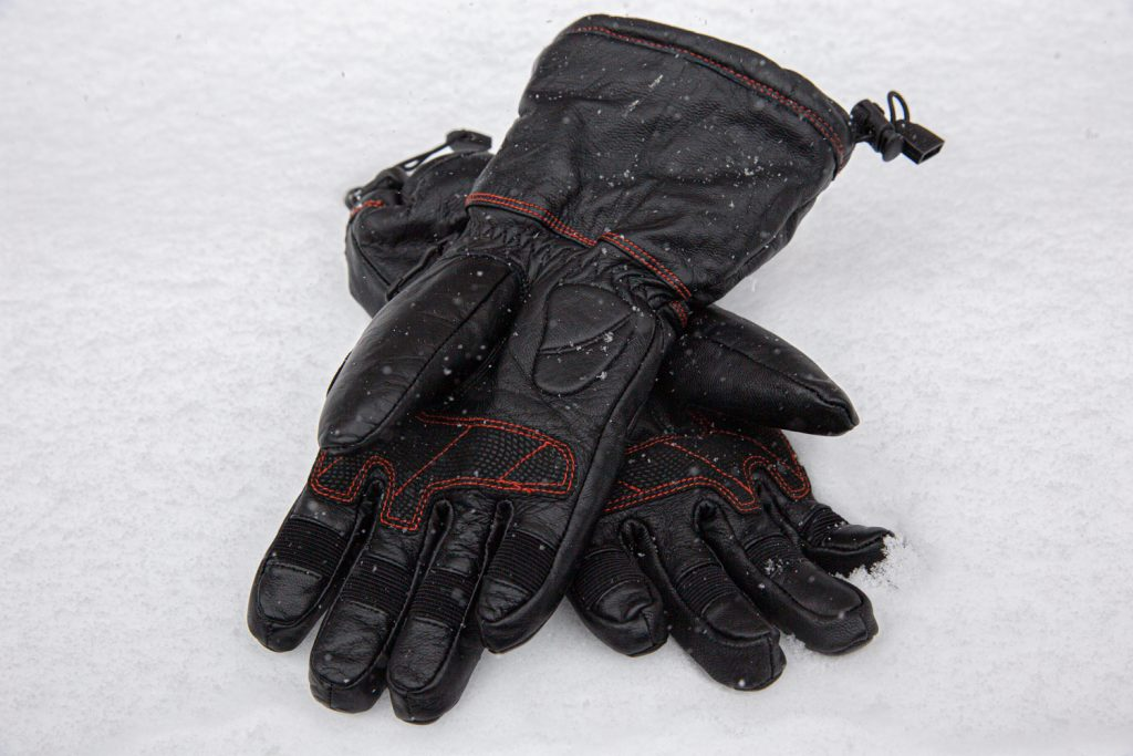 harley-davidson women's heated gear gloves 98322-17VW