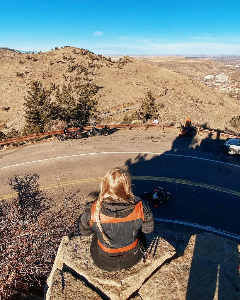 Local Motorcycle Roads | Denver Colorado | Lookout Mountain