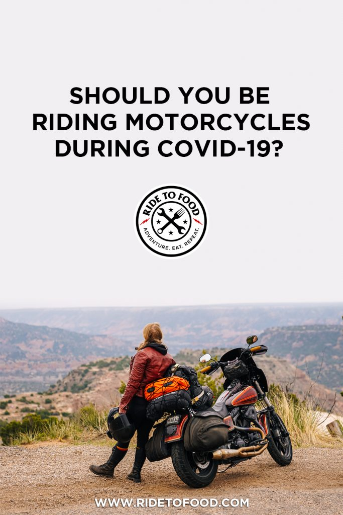 Riding Motorcycles During COVID-19
