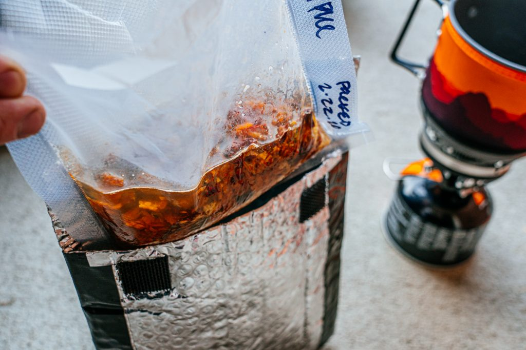 Motorcycle Camping Meals: Red Beans and Rice
