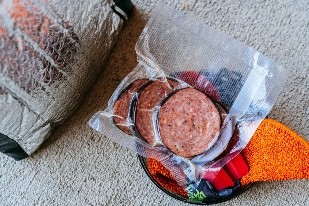 Red Beans and Rice Motorcycle Camping Meal