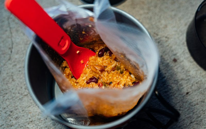 Motorcycle Camping Meals: Dehydrated Red Beans & Rice