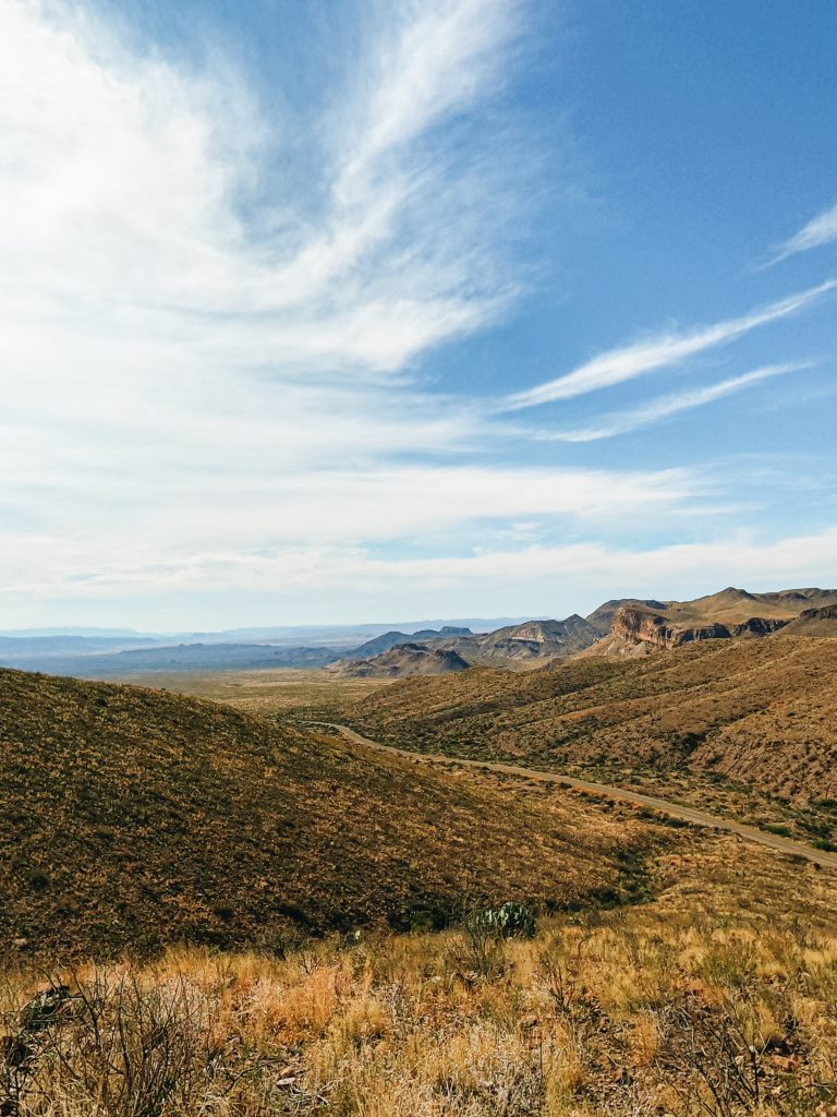 Motorcycle Roads | Ross Maxwell Scenic Drive | Big Bend National Park