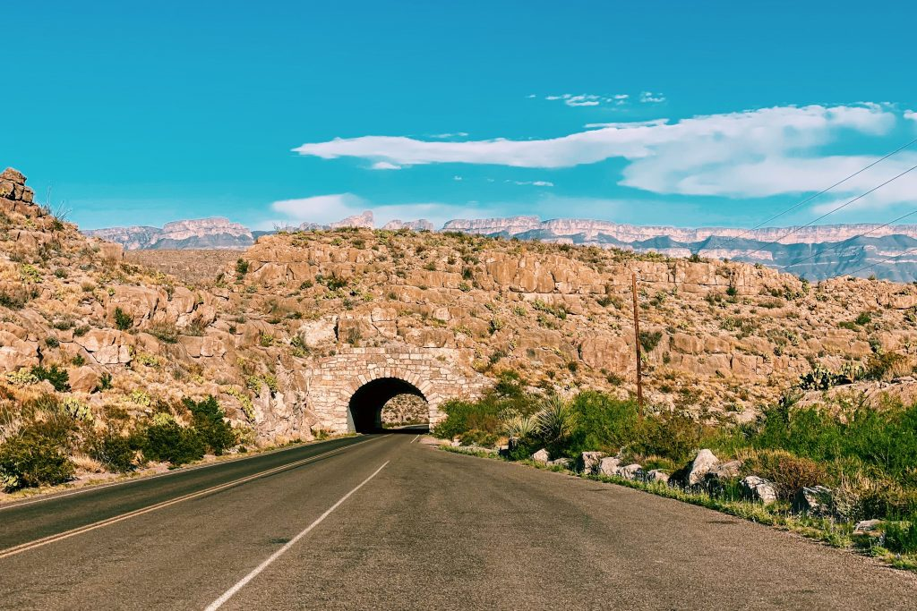 Motorcycle Roads in Big Bend National Park   Rio Grande Tunnel