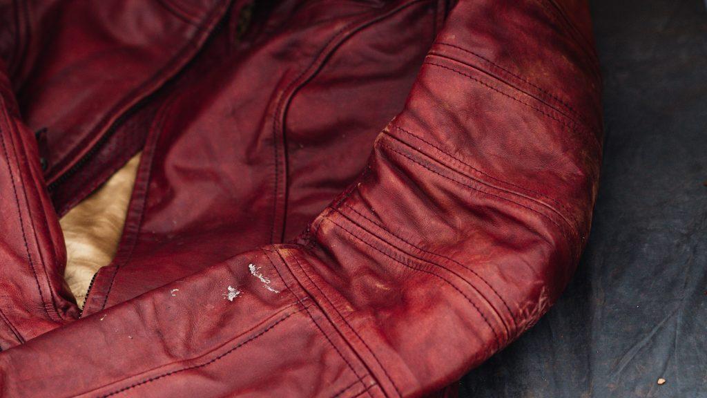 Roland Sands Design Maven Jacket Oxblood