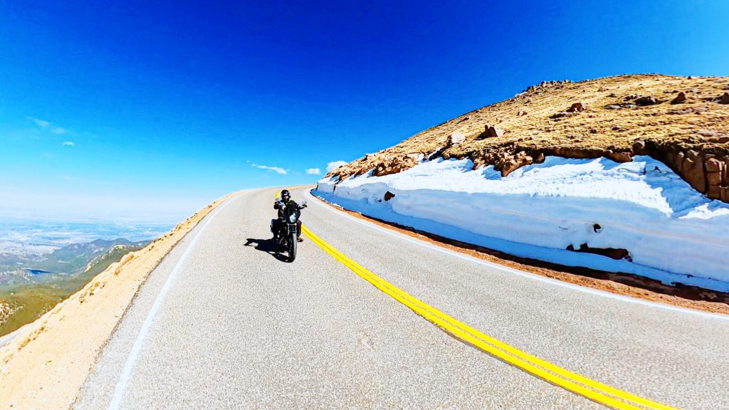Motorcycle Pikes Peak