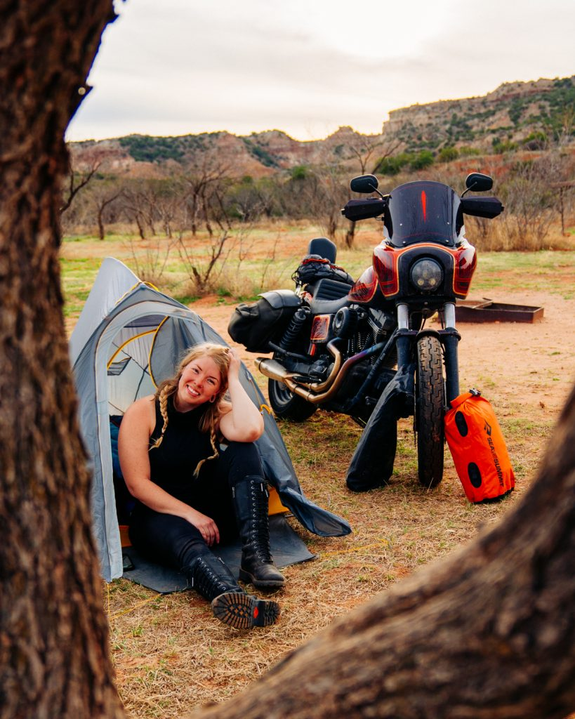 Palo Duro Canyon State Park Campground | Motorcycle Camping