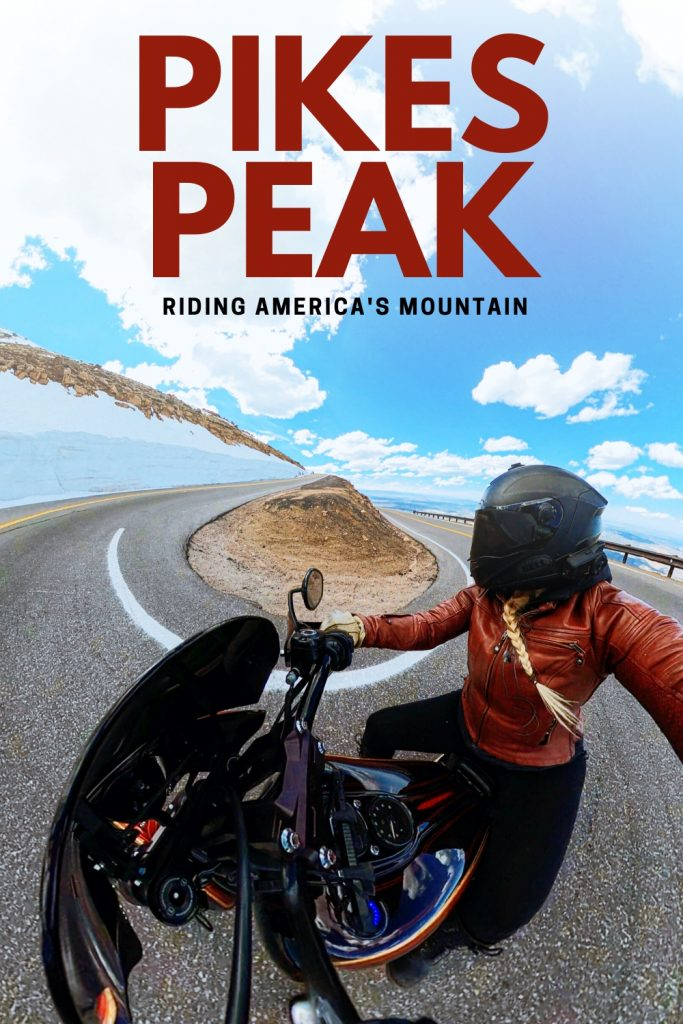 riding pikes peak