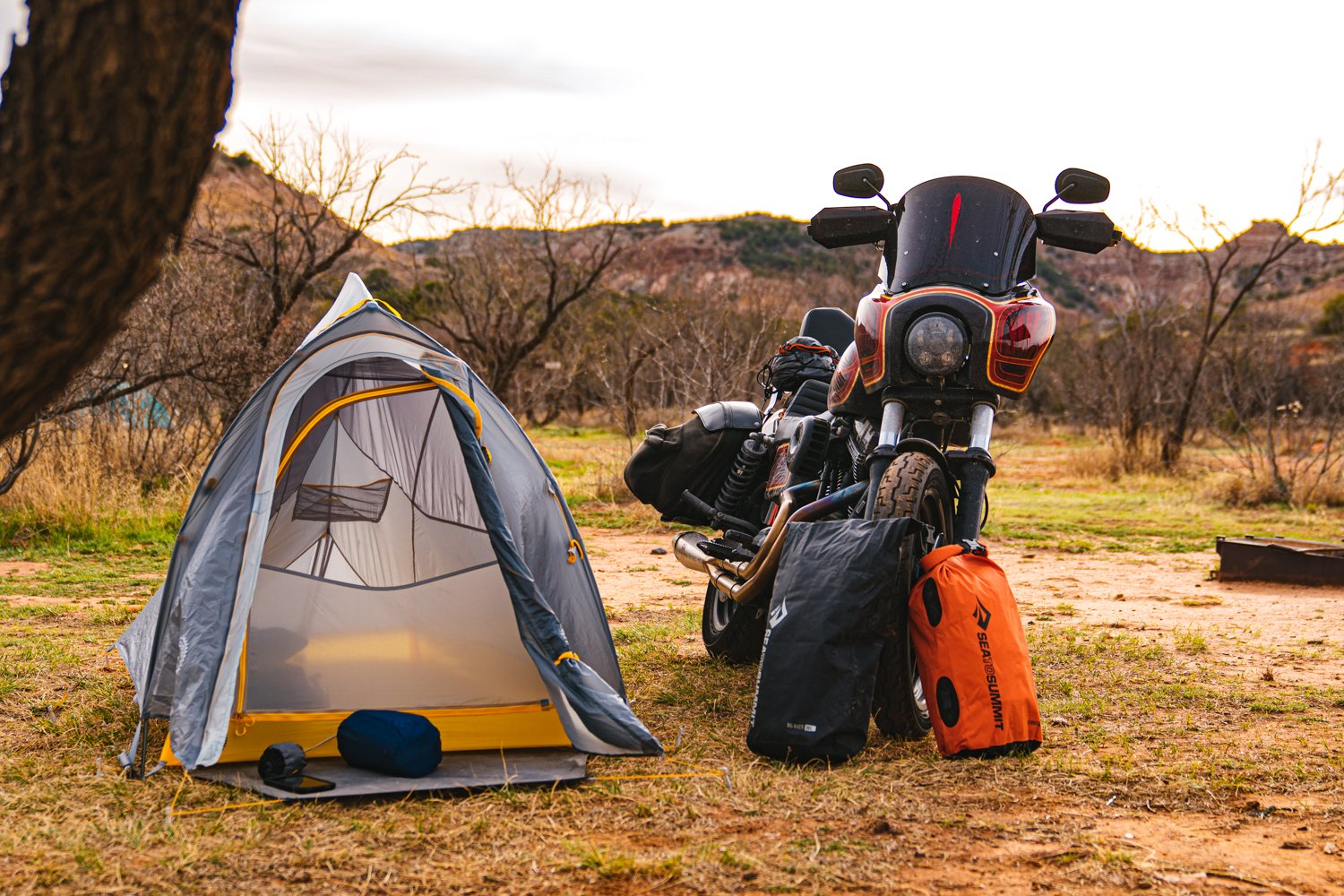 Big Agnes Fly Creek Bikepacking Tent – A Motorcycle Camping Review