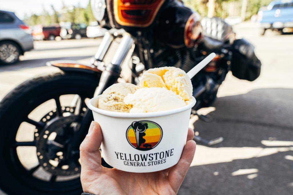 Ride Motorcycles Eat Ice Cream