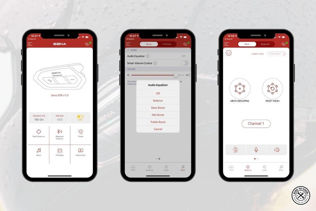 Sena 50 Utility App