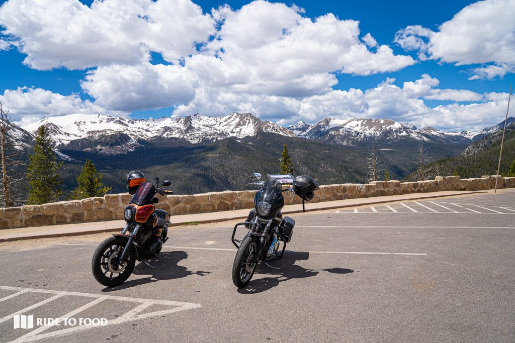 Never Summer Mountains Overlook | Motorcycling Guide to Trail Ridge Road