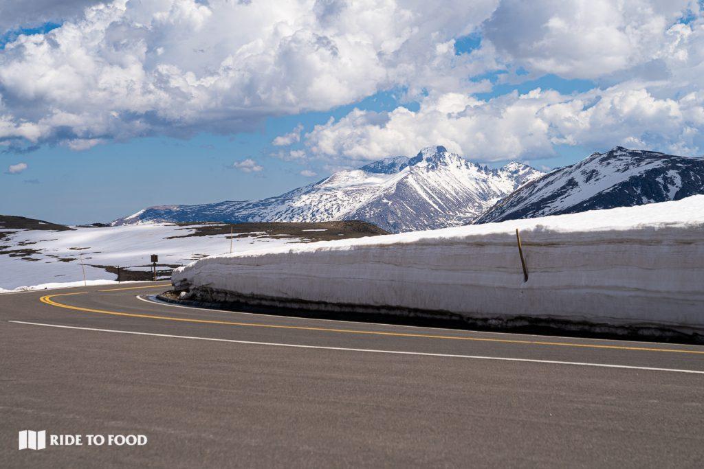 Snowpack on Trail Ridge Road