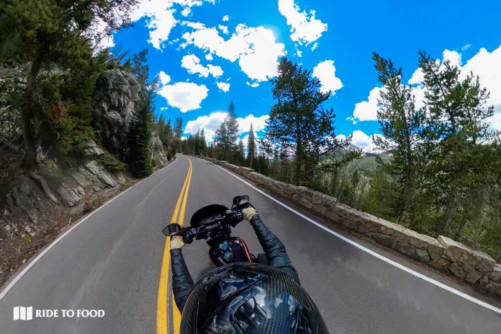 Trail Ridge Road near Fairview Curve
